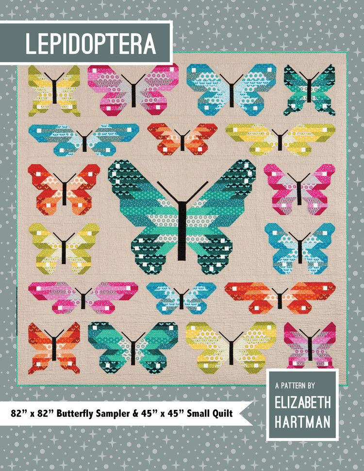 Lepidoptera Quilt Pattern