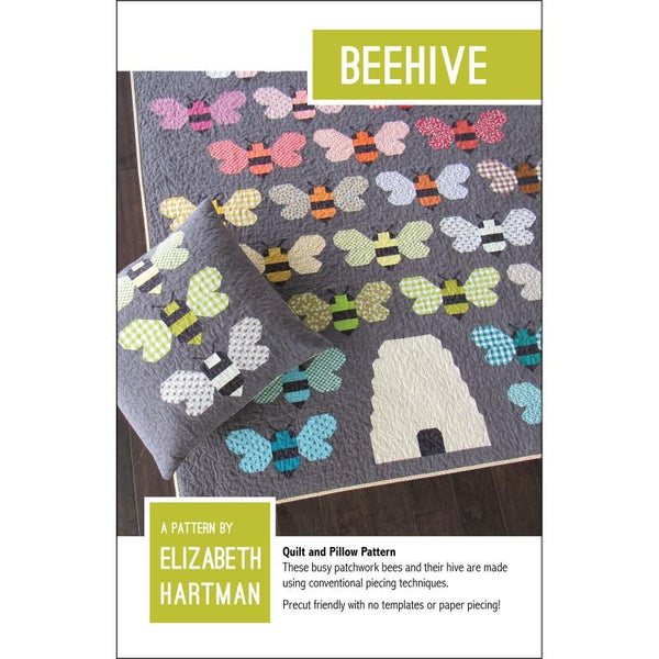 Beehive Quilt and Pillow Pattern
