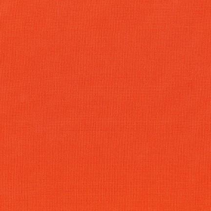 Kona Cotton in Tiger Lily - Color of the Year 2018