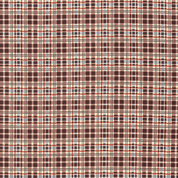 Flannel Plaid in Bark