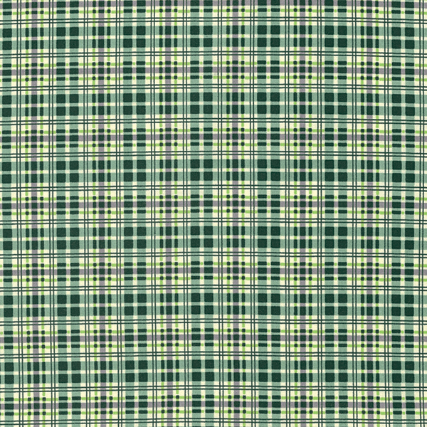 Flannel Plaid in Evergreen