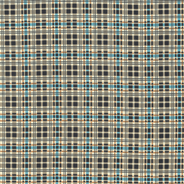 Flannel Plaid in Stream