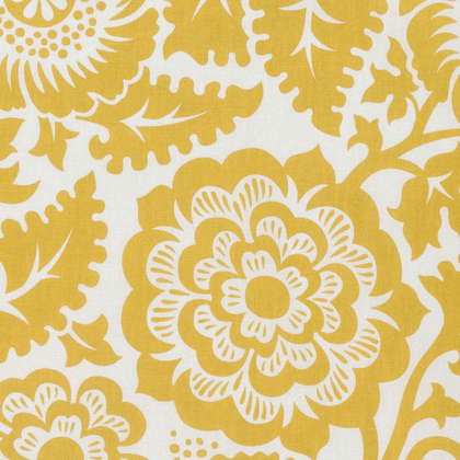 Blockprint Blossom in Honey
