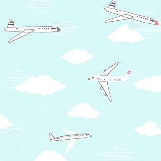 Jetsetter in Sky (KNIT)