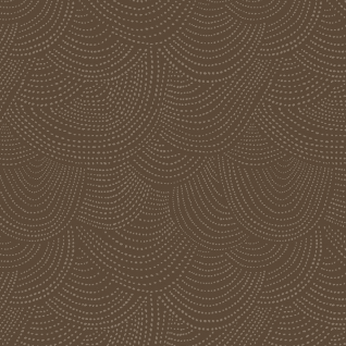 Scallop Dot in Mocha