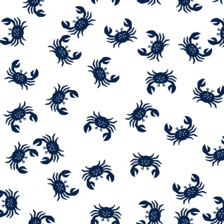 Crabs in White