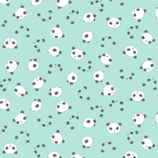 Panda Heads in Mint