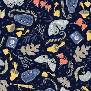 Forest Stuff in Navy