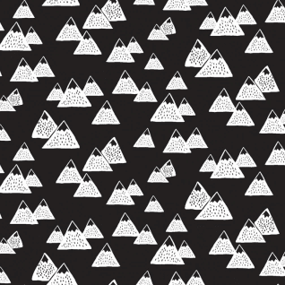 Mountains in Black