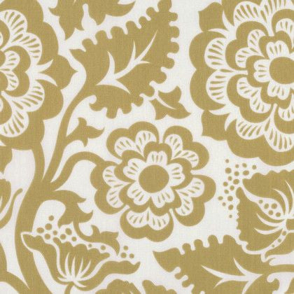 Blockprint Blossom in Gold (VOILE)
