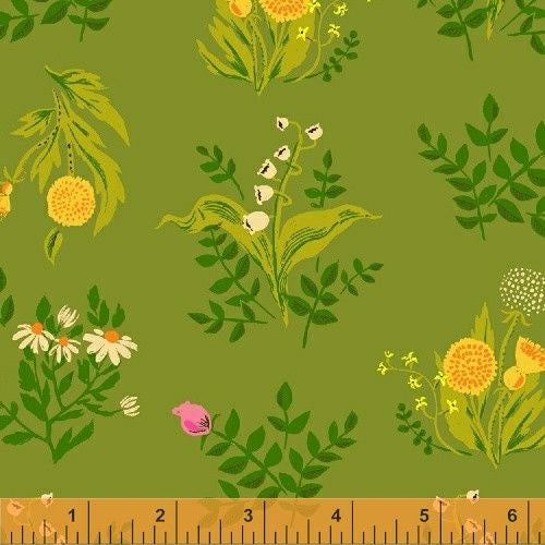 Bouquet in Olive (LAWN)