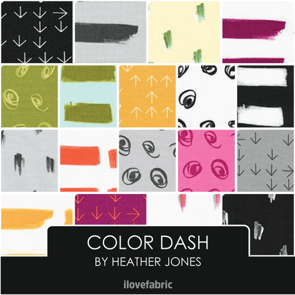 Color Dash Fat Quarter Bundle