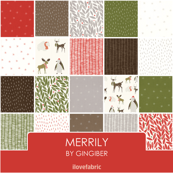 Merrily Fat Quarter Bundle