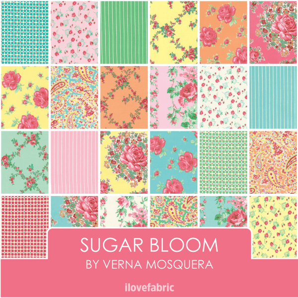 Sugar Bloom Half Yard Bundle