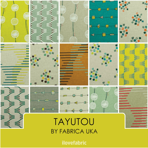 Tayutou Fat Quarter Bundle