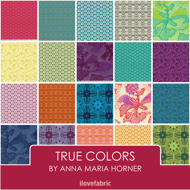 Anna Maria Horner True Colors Fat Quarter Bundle
