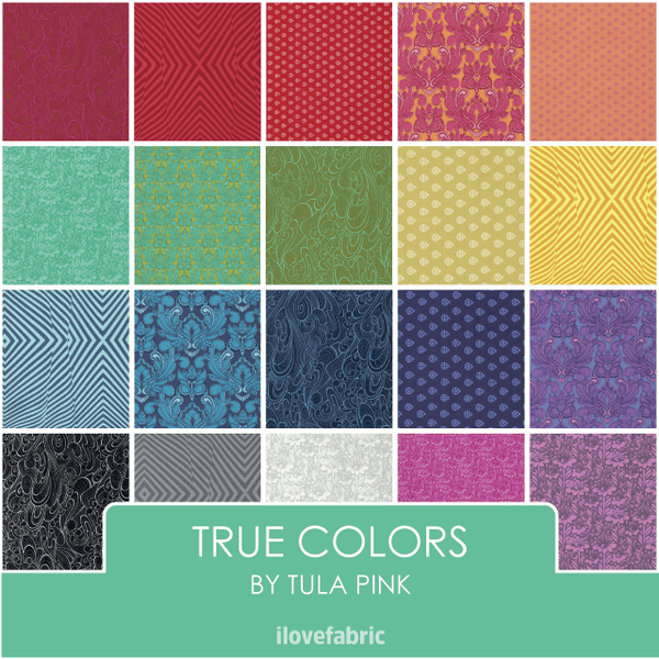 Tula Pink True Colors Fat Quarter Bundle