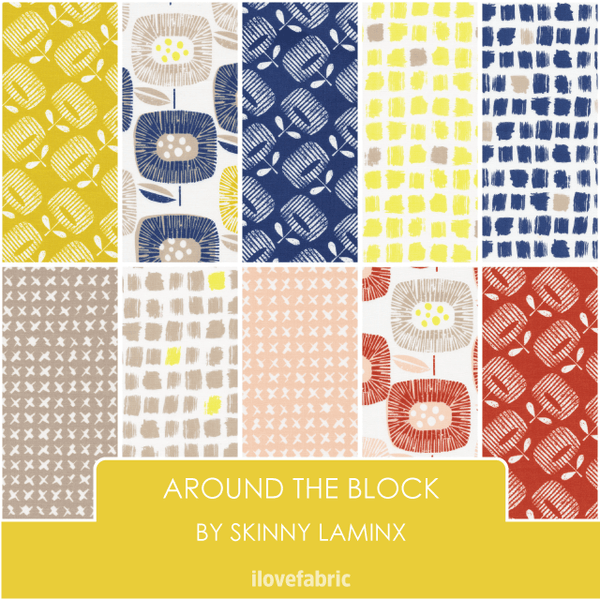 Around The Block Fat Quarter Bundle