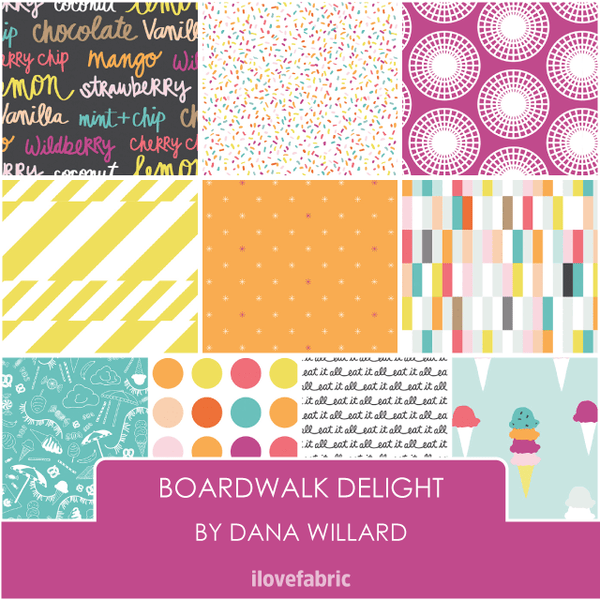 Boardwalk Delight Fat Quarter Bundle