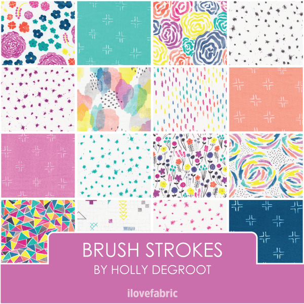 Brush Strokes Fat Quarter Bundle