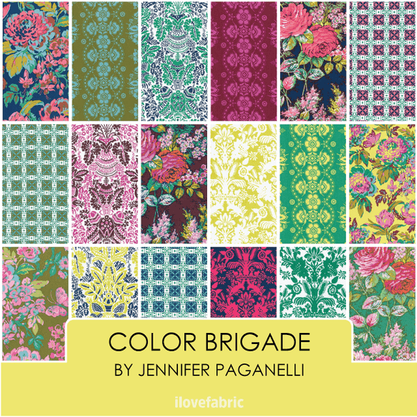 Color Brigade Fat Quarter Bundle