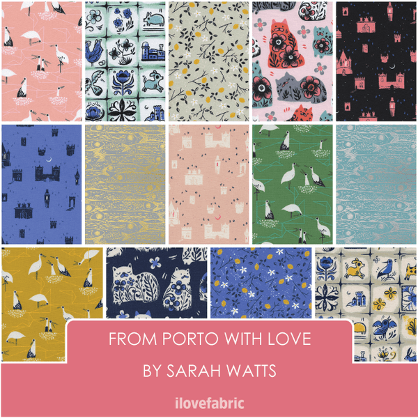 From Porto With Love Fat Quarter Bundle
