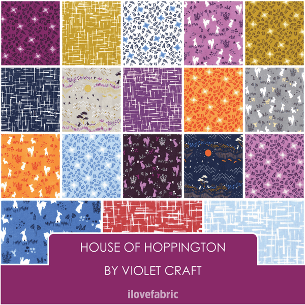 House of Hoppington Fat Quarter Bundle