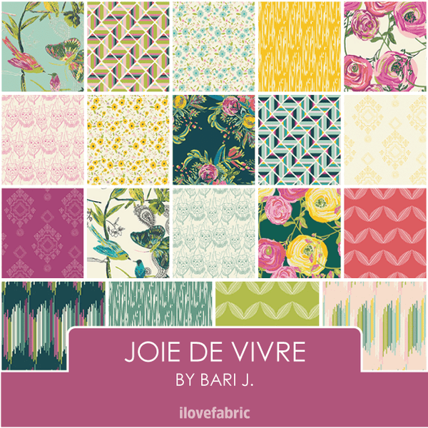 Joie de Vivre Fat Quarter Bundle