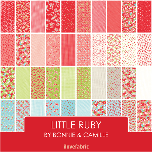 Little Ruby Half Yard Bundle