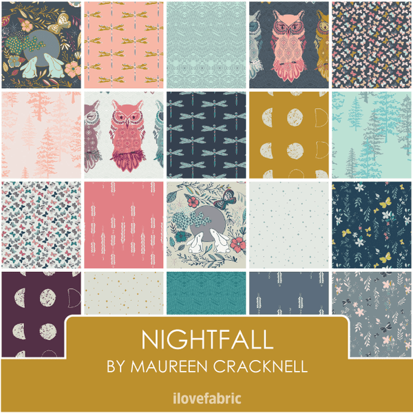 Nightfall Half Yard Bundle