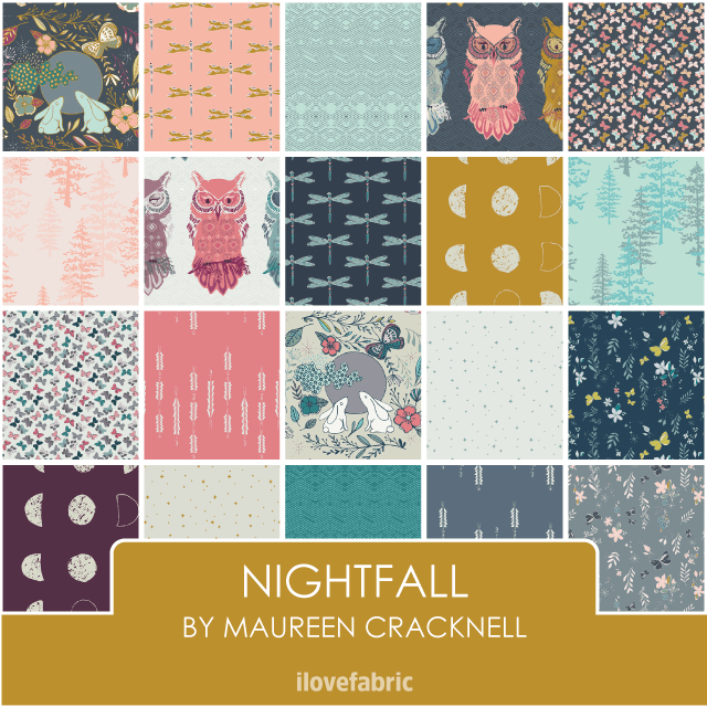 Nightfall Fat Quarter Bundle