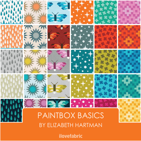 Paintbox Basics Fat Quarter Bundle
