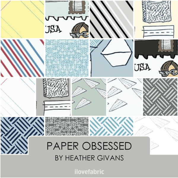 Paper Obsessed Half Yard Bundle