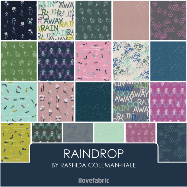 Raindrop Half Yard Bundle