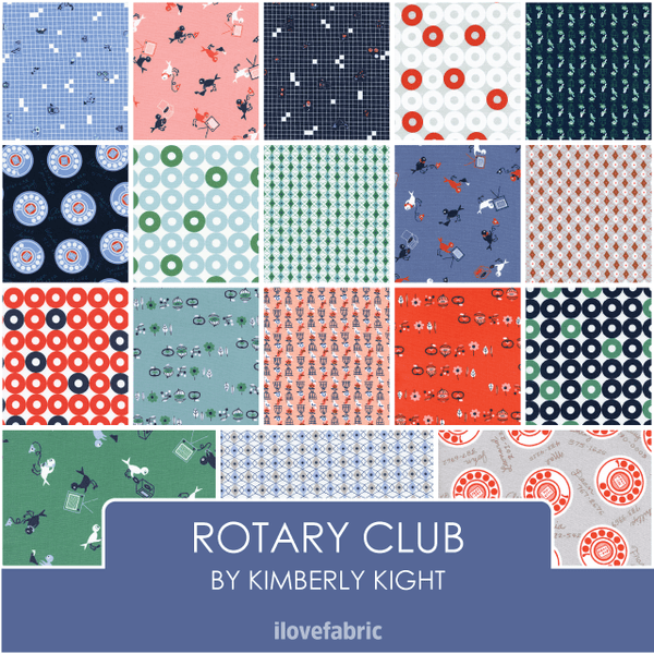 Rotary Club Fat Quarter Bundle