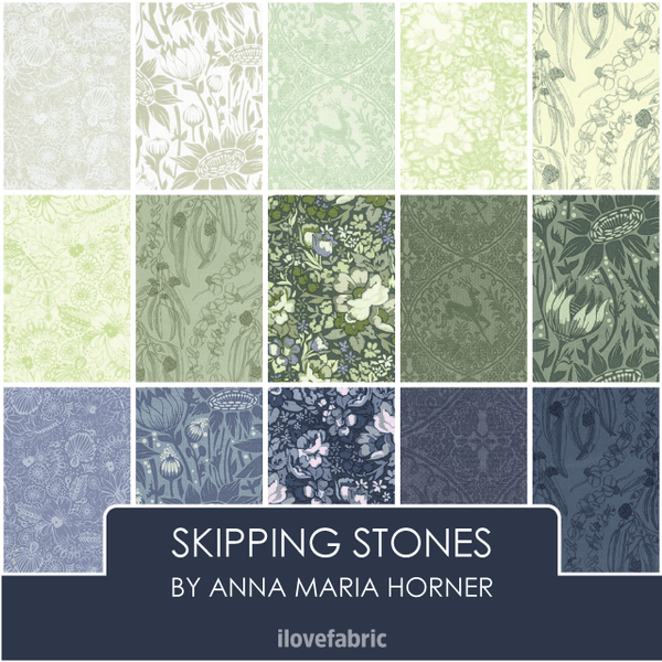 Skipping Stones Fat Quarter Bundle