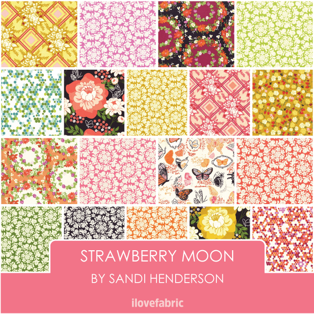 Strawberry Moon Half Yard Bundle