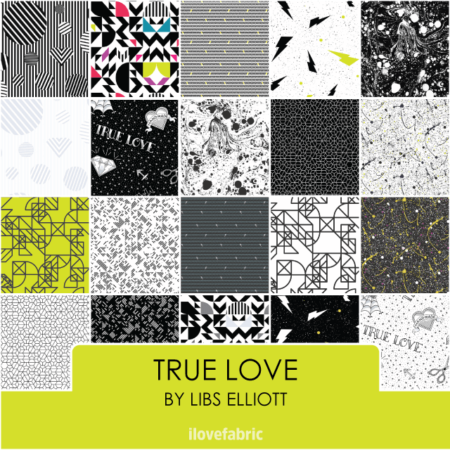 True Love Fat Quarter Bundle