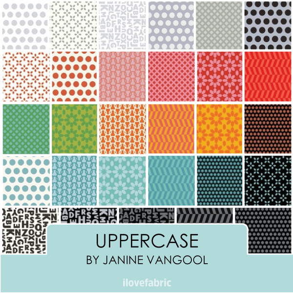 Uppercase Fat Quarter Bundle