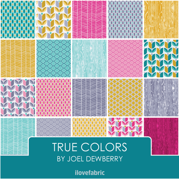 Joel Dewberry True Colors Fat Quarter Bundle