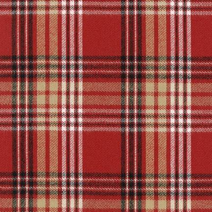 Durango Flannel in Red (FLANNEL)