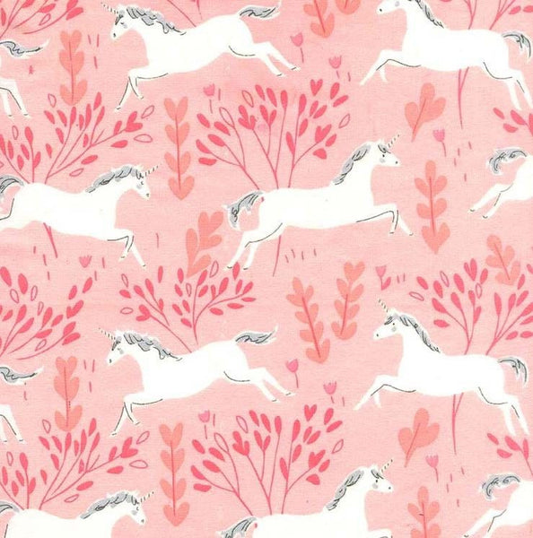 Unicorn Forest in Blossom (FLANNEL)