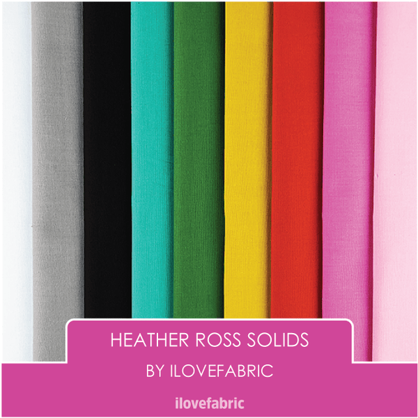 Heather Ross Solids Bundle
