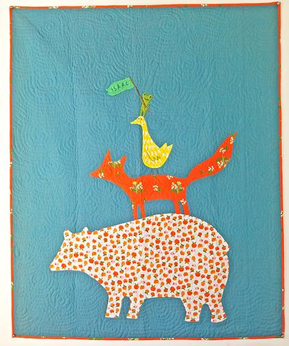 Jons Animal Quartet Quilt Kit