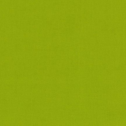 Kona Cotton in Lime