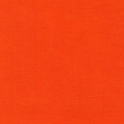 Kona Cotton in Tangerine