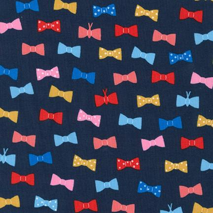 Bow Ties in Navy (LAWN)