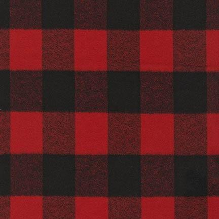 Mammoth Flannel in Red (FLANNEL)