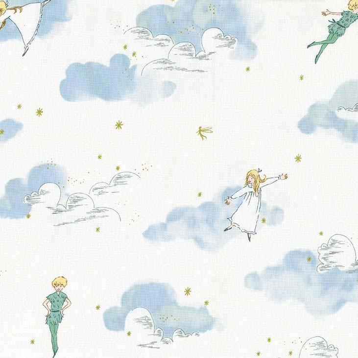 Peter and Wendy in Cloud (METALLIC)