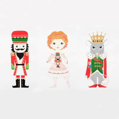 Nutcracker Panel (METALLIC)